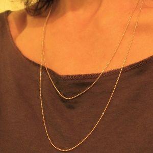 14 karat Yellow solid gold necklase.